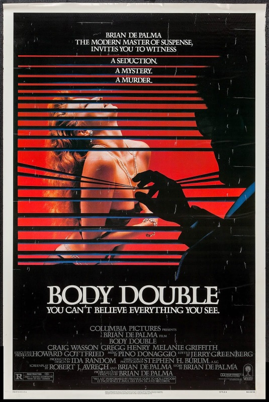 Watch DePalma's Body Double along with the Jackass Critics!