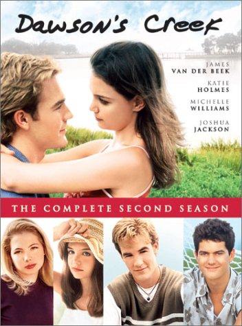 DVD Cover for Season 2 DVD of Dawson's Creek