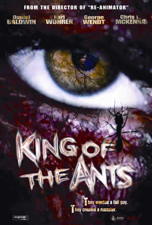 DVD Cover for King of the Ants