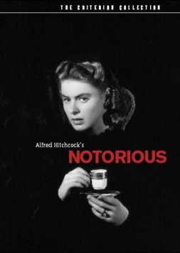 DVD Cover for the Criterion Edition of Notorious.