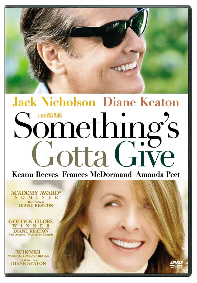 Dvd Cover For Something S Gotta Give