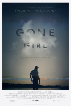 Gone Girl Theatrical US Poster
